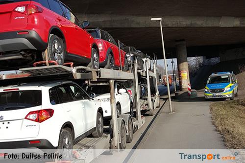 Boetes voor vrachtwagenchauffeurs en werkgevers tijdens Duitse TISPOL Controleweek