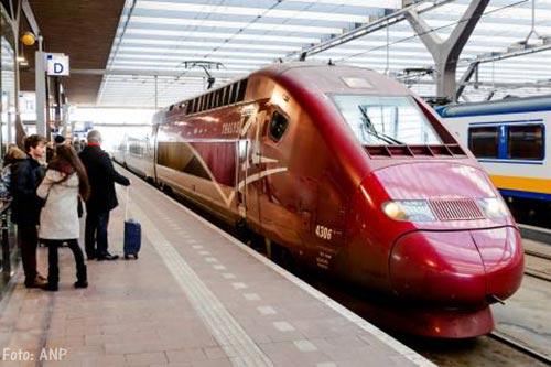 Thalys schrapt treinen Amsterdam-Lille