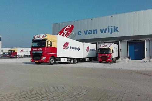 Uitbreiding en nieuw warehouse E. van Wijk Logistics geopend