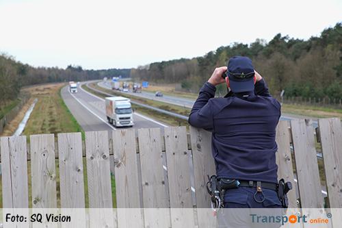 Politie controleert op A67 [+foto]