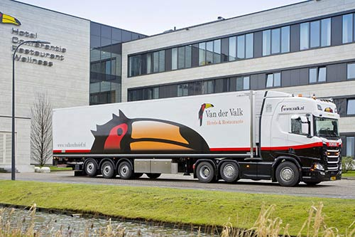 Nieuwe Scania voor Van der Valk