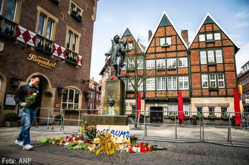 Dader Münster liet brief achter