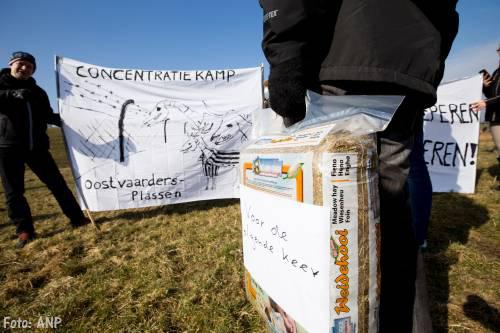 Actievoerders Oostvaardersplassen opgepakt