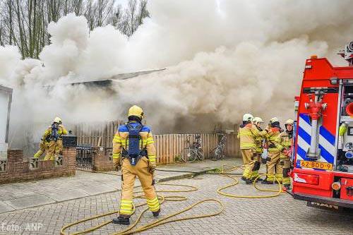 Jongen (5) dood door brand in woonwagen Arnhem