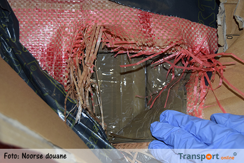 Megavondst drugs in Nederlandse vrachtwagen in Noorwegen [+foto's]
