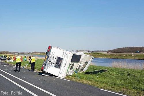 Ernstig ongeval op N9 bij Schagerbrug [+foto's]