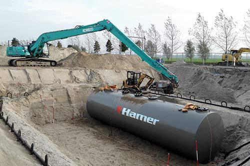 Gebruikte ondergrondse tanks voor half geld