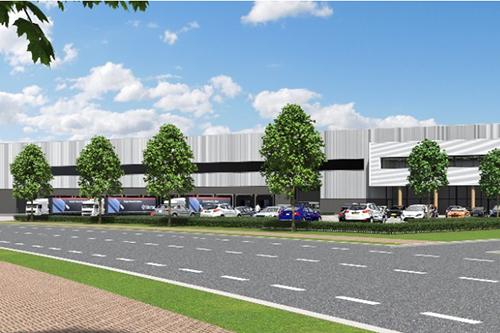 Heylen Warehouses bouwt EDC voor Stelrad & Henrad in Heerlen