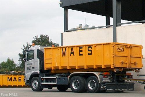 Containers Maes neemt bouw- en sloopactiviteiten SUEZ over