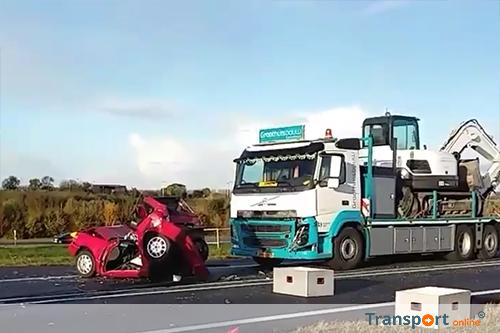 Rechter: geen verband tussen appen achter het stuur en ongeval N50: 500 euro boete