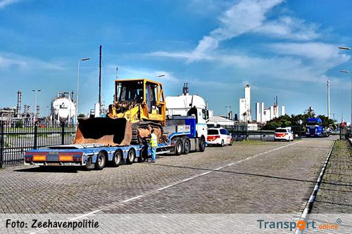 Grote transportcontrole door Zeehavenpolitie [+foto's]
