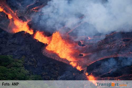 Vulkaan Hawaii blijft onrustig