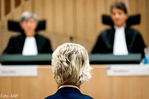 Geert Wilders wraakt gerechtshof na afwijzen verzoeken voor nader onderzoek