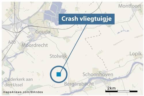Twee doden door neerstorten vliegtuigje