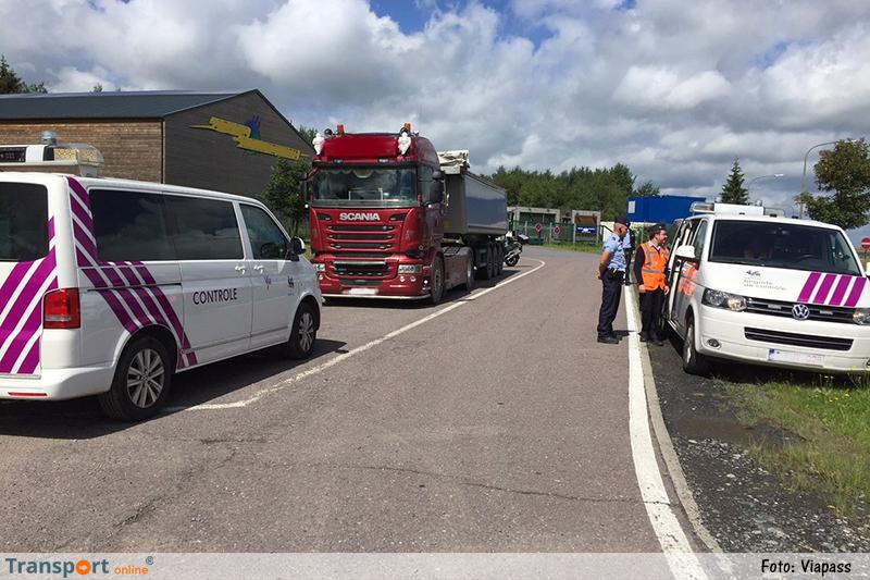 Twee vrachtwagenchauffeurs betrapt bij gebruik van illegale stoorzenders om kilometerheffing te ontlopen