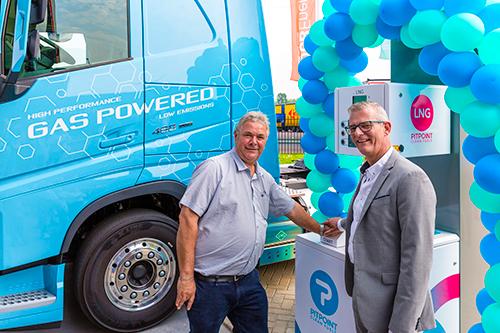 25ste LNG-tankstation van Nederland geopend