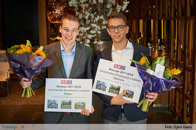 Prijzen voor beste bachelor- en masterscriptie logistiek uitgereikt