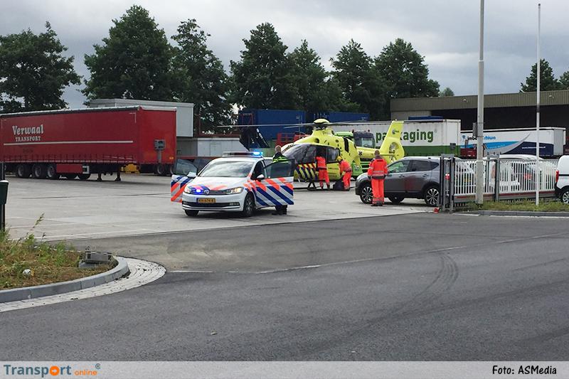 Dode bij bedrijfsongeval bij Zijderlaan in Stolwijk