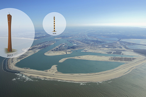 Maasvlakte krijgt 70 meter hoge radartoren