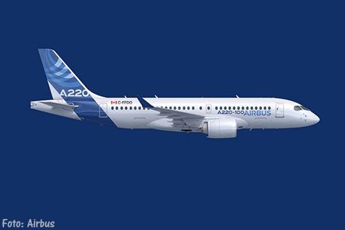 Bombardier-vliegtuigen worden Airbus A220