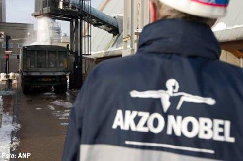 Staking legt zoutfabriek AkzoNobel stil
