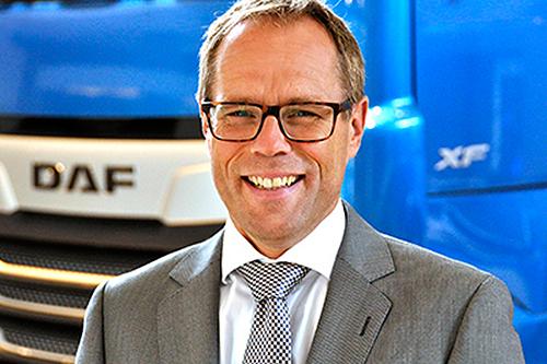 Harry Wolters wordt nieuwe president-directeur DAF Trucks