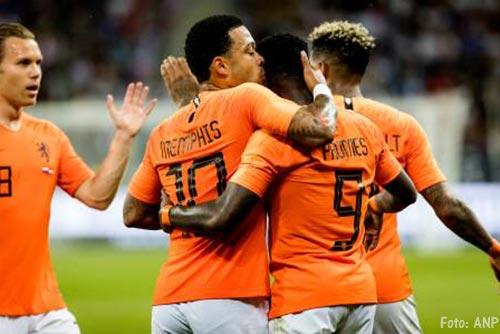 Alle duels Nederlands elftal weer bij NOS