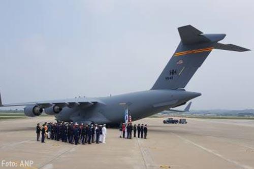 Noord-Korea draagt resten militairen VS over
