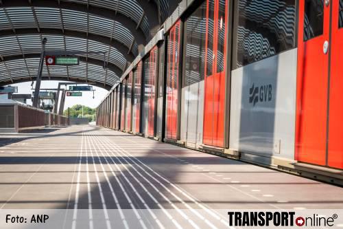 Amsterdamse Noord-Zuidlijn gaat vanaf vandaag rijden