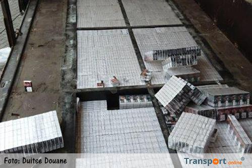 Röntgenapparaat van de douane onthult sigarettensmokkel [+foto's]