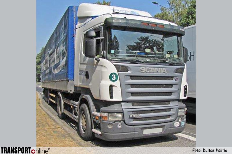 Russische vrachtwagenchauffeur onderweg met kapotte remschijf: 208 euro boete [+foto]