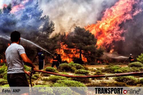 Meeste branden Griekenland onder controle
