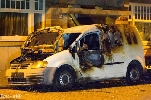 'Uitgebrande bestauto gebruikt bij schietpartij'