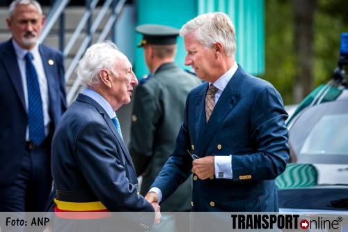 Koning Filip bezoekt politie in Spa
