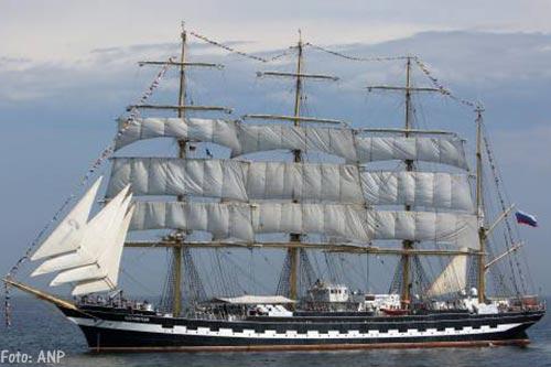 Russische schepen Sedov en Kruzenshtern niet naar Harlingen