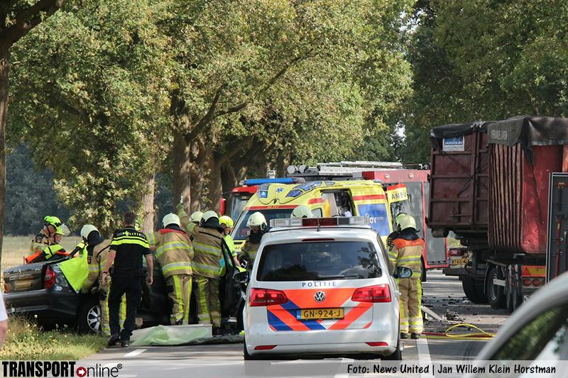 Ernstig ongeval op N348 [+foto]