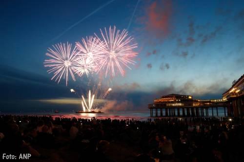 Internationaal Vuurwerkfestival Scheveningen succesvol van start