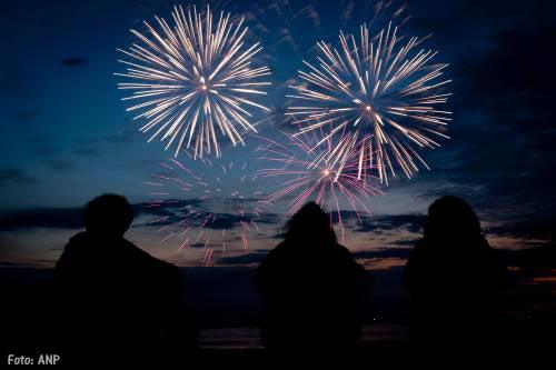 Scheveningen beleeft finale vuurwerkfestival
