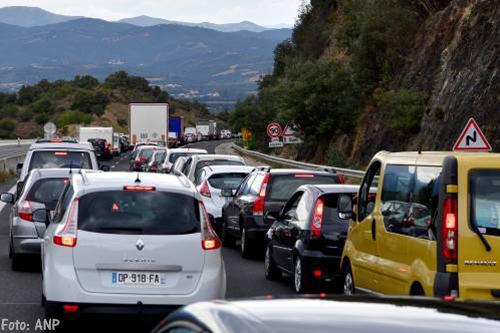 Grootste verkeersdrukte in Europa weer voorbij
