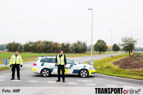 Deense politie sluit belangrijke toegangswegen af vanwege grote politieactie [+foto's]