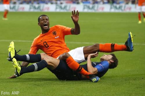 Oranje verliest met 2-1 van wereldkampioen Frankrijk