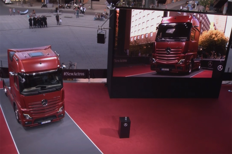 Daimler onthult Mercedes-Benz New Actros [+foto's&video]