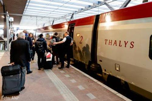 Thalys vervoert meer reizigers