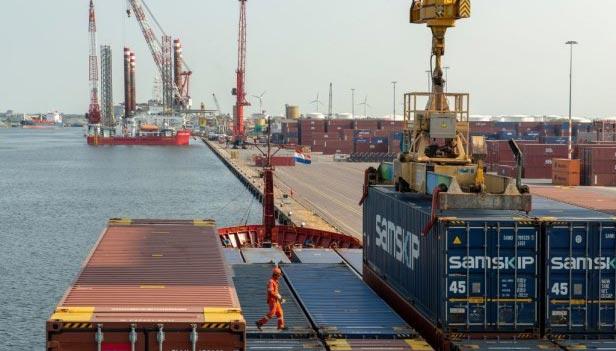 Recordoverslag voor Amsterdamse haven