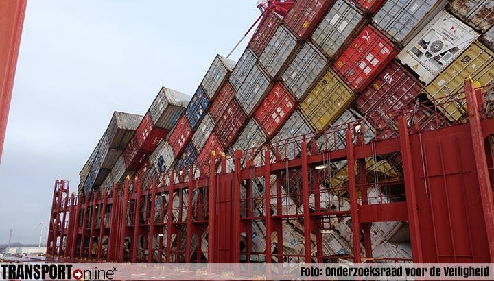 MSC Zoe verloor minimaal 345 containers in plaats van eerder geschatte 291