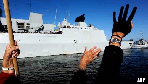 Evertsen vlaggenschip mediterrane NAVO-vloot