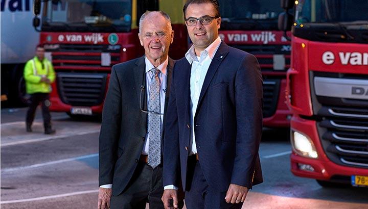 Ewout van Wijk volgt vader Ad van Wijk op als CEO van E. van Wijk Group