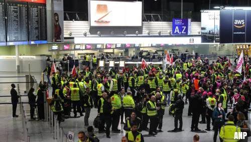 Stakingen op Duitse luchthavens