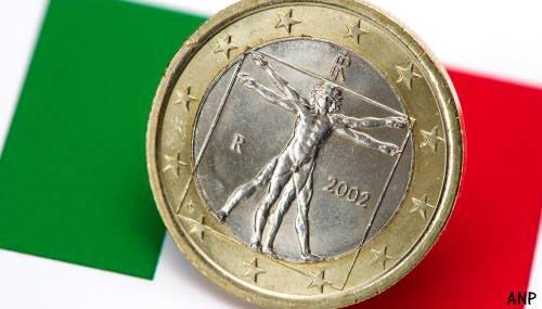 Economie Italië belandt in recessie