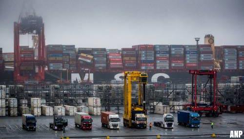 'Nog 41 van de 281 overboord geslagen containers van MSC Zoe zoek'
